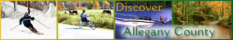 Discover Allegany County for Yourself!